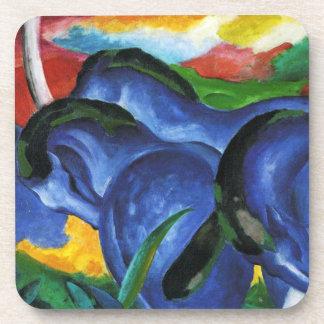 Prácticos de costa azules de los caballos de Franz Posavasos