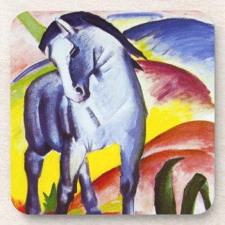 Prácticos de costa azules del caballo de Franz Mar Posavasos De Bebidas
