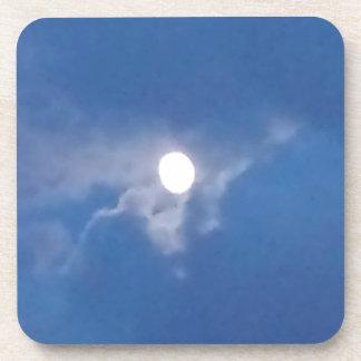 ¡Prácticos de costa con la foto de la Luna Llena! Posavaso