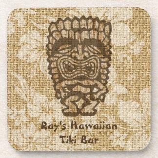 Prácticos de costa Corcho-apoyados barra hawaiana Posavasos De Bebidas