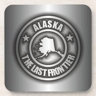 """Prácticos de costa de acero del corcho de """"Alaska"""" Posavaso"""