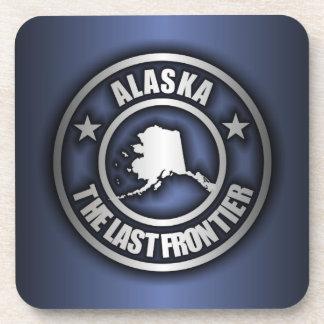 """Prácticos de costa de acero del corcho de """"Alaska"""" Posavasos"""