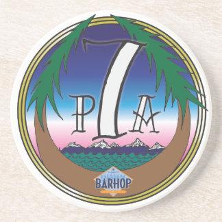 Prácticos de costa de Barhop PA7 Posavasos Personalizados