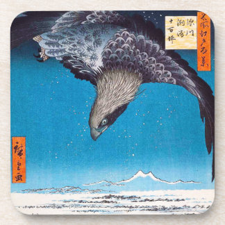 Prácticos de costa de Hiroshige Eagle Posavasos