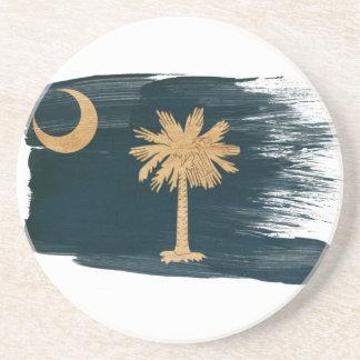 Prácticos de costa de la bandera de Carolina del S Posavasos Manualidades