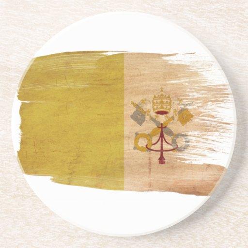 Prácticos de costa de la bandera de la Ciudad del  Posavasos Para Bebidas