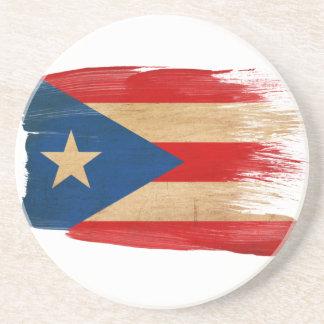 Prácticos de costa de la bandera de Puerto Rico Posavasos De Arenisca