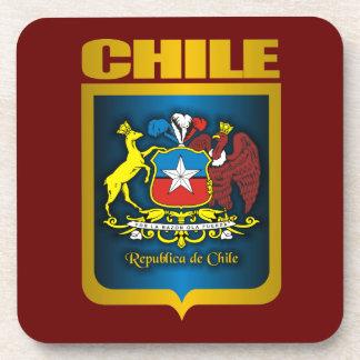 """""""Prácticos de costa de la bebida del oro de Chile"""" Posavaso"""
