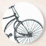 Prácticos de costa de la bicicleta del vintage posavasos manualidades