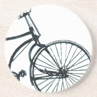 Prácticos de costa de la bicicleta del vintage posavasos diseño
