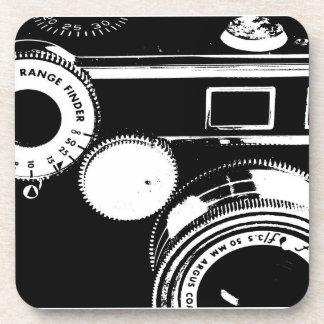 Prácticos de costa de la cámara del vintage de Arg Posavasos