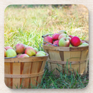 Prácticos de costa de la cesta de Apple Posavasos De Bebidas