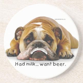 Prácticos de costa de la leche/de la cerveza de Ze Posavasos Cerveza