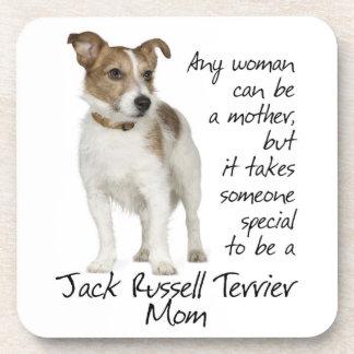 Prácticos de costa de la mamá de Jack Russell Terr Posavasos