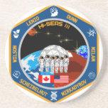 Prácticos de costa de la misión III de HI-SEAS Posavasos Cerveza