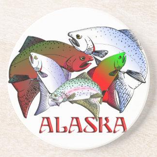 Prácticos de costa de la pesca de Alaska Posavasos Para Bebidas