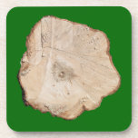 Prácticos de costa de la rebanada del árbol posavaso