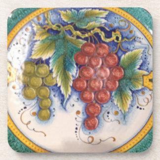 Prácticos de costa de la uva posavasos de bebida