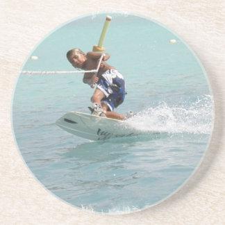 Prácticos de costa de la vuelta de Wakeboarding Posavasos Personalizados