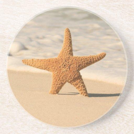 Prácticos de costa de las estrellas de mar posavasos personalizados
