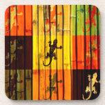 Prácticos de costa de los Geckos del arte pop Posavasos De Bebida