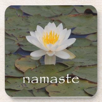 Prácticos de costa de Namaste Lotus Posavasos De Bebidas