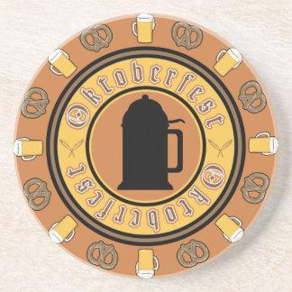 Prácticos de costa de Oktoberfest Posavasos Cerveza