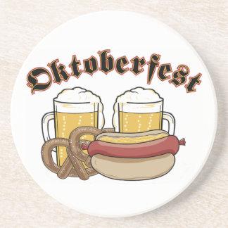 Prácticos de costa de Oktoberfest Posavasos Personalizados