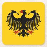 Prácticos de costa de papel de Eagle del alemán Posavasos De Cartón Cuadrado
