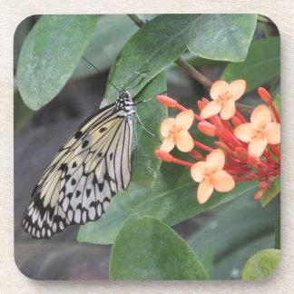 Prácticos de costa de papel de la mariposa de la c posavasos