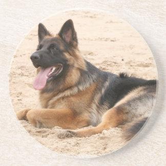 Prácticos de costa de reclinación del perro de pas posavasos manualidades