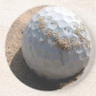 Prácticos de costa de Sandpit del golf Posavasos Para Bebidas