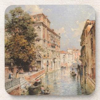Prácticos de costa de Venecia de Unterberger Posavasos De Bebidas