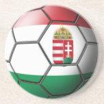 Prácticos de costa del balón de fútbol de Hungría Posavaso Para Bebida
