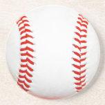 Prácticos de costa del béisbol posavasos manualidades