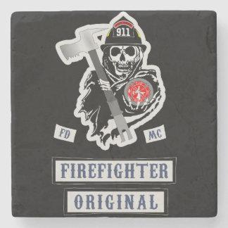 ¡Prácticos de costa del bombero! Posavasos De Piedra