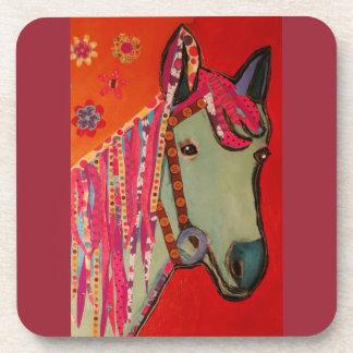 Prácticos de costa del caballo azul/parte posavasos