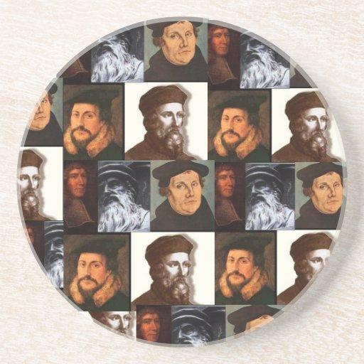 Prácticos de costa del Calvinism Posavasos Diseño