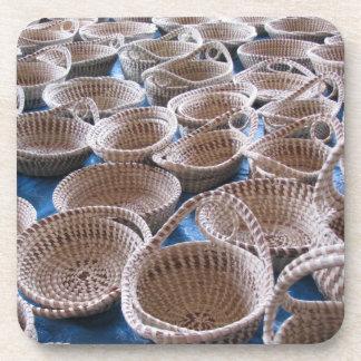 Prácticos de costa del corcho de las cestas del SC Posavasos De Bebida