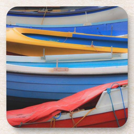 Prácticos de costa del corcho de los barcos de Row Posavasos De Bebida