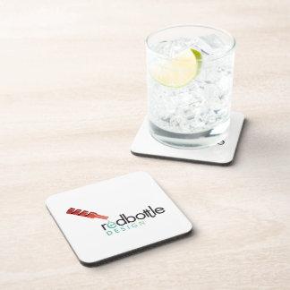 Prácticos de costa del corcho del Logotipo-ed de R Posavasos De Bebidas