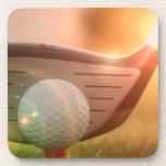 Prácticos de costa del corcho del Putter del golf Posavasos
