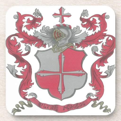 Prácticos de costa del escudo de armas de Crosland Posavasos De Bebidas