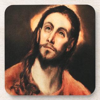 Prácticos de costa del Jesucristo de El Greco Posavasos De Bebidas