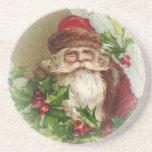 Prácticos de costa del navidad de Papá Noel del Posavasos Manualidades