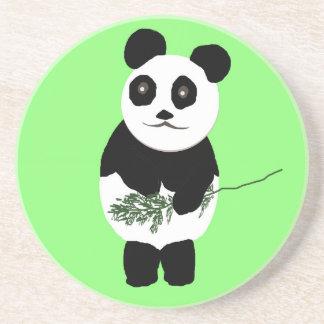 Prácticos de costa del oso de panda posavasos para bebidas