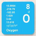 Prácticos de costa del oxígeno (luz en azul) posavaso