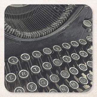 Prácticos de costa del papel de máquina de posavasos personalizable cuadrado