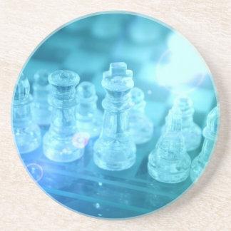 Prácticos de costa del partido del ajedrez posavasos manualidades