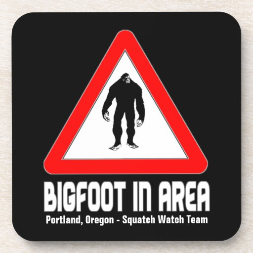Prácticos de costa divertidos de Sasquatch - BIGFO Posavasos